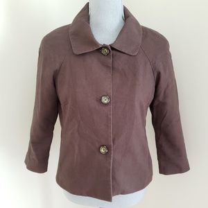 Banana Republic Brown Dress Jacket